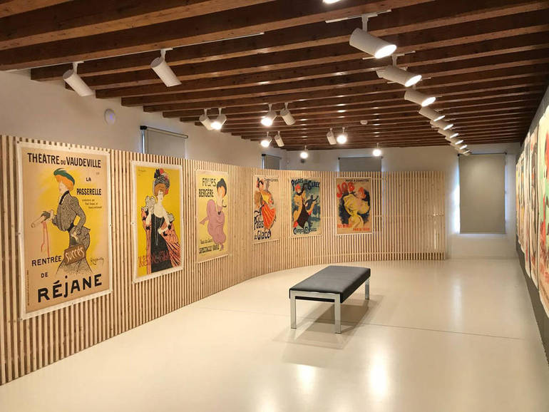 Gli interni della sede di San Gaetano durante una mostra. Foto: https://www.lavitadelpopolo.it/Paesi-Citta/Treviso/Collezione-Salce-inaugura-il-nuovo-museo