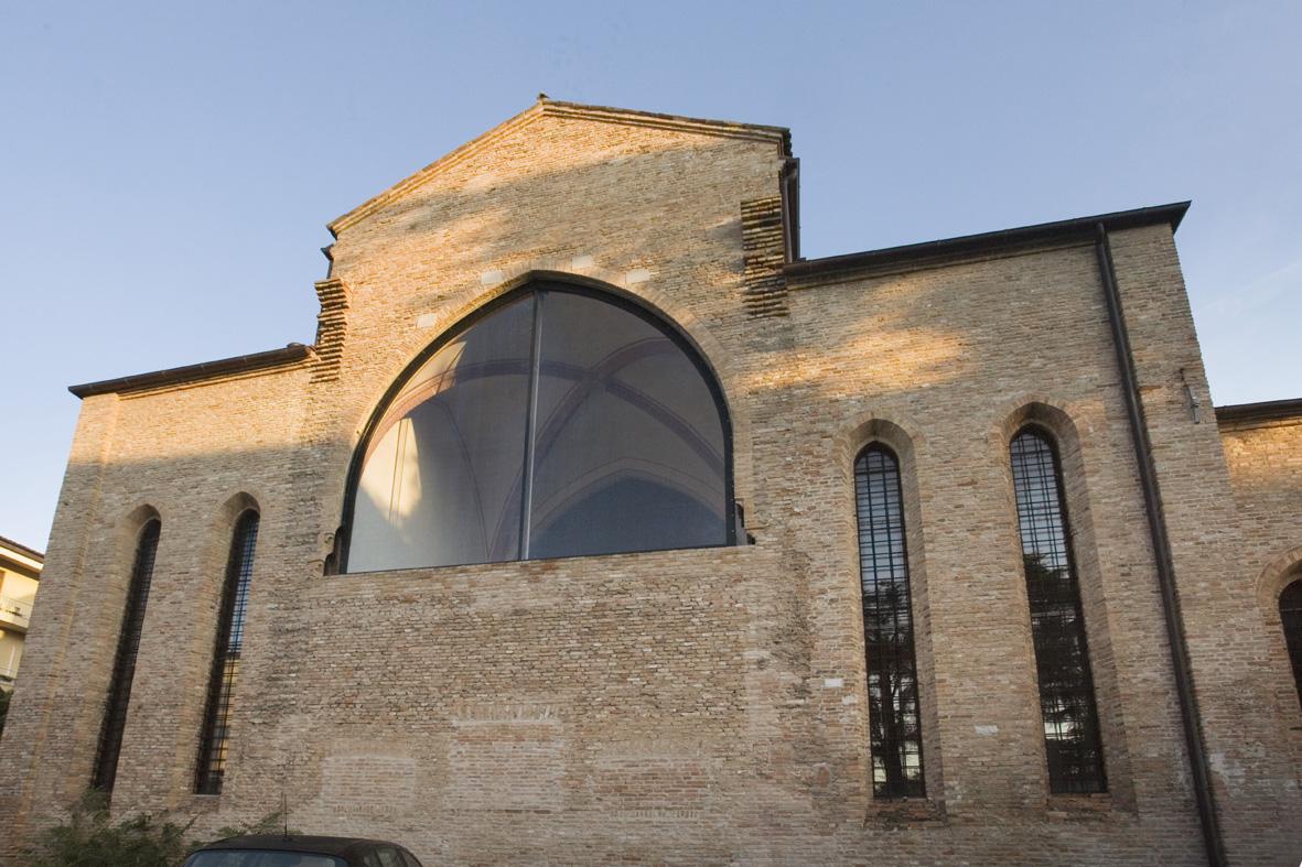 Esterno della Chiesa di Santa Margherita a Treviso. Foto: https://www.beniculturali.it/luogo/nuovo-archivio-chiesa-di-santa-margherita-museo-collezione-salce