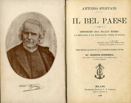 Antonio Stoppani: Il Bel Paese 1873 (copertina)